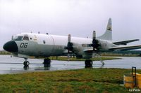 163006 @ EGQK - Scanned from print. P-3C orion 163006 coded 006 of USN VX-1 at RAF Kinloss during a Joint Maritime Course. - by Clive Pattle