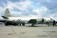 158570 @ EGDY - Scanned from print USN P-3C Orion 158570 coded LN/42 of VP-45 at RNAS Yeovilton Air Day 1979 - by Clive Pattle