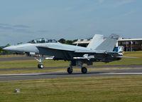 168890 @ EGLF - Landing after a customer demo flight. - by kenvidkid