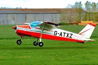 G-ATXZ @ EGBR - Departure - by glider