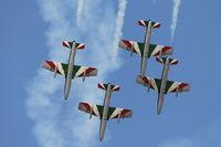 MM54538 @ LMML - Frecce Tricolori Italian Air Force performing during Malta International Airshow2014