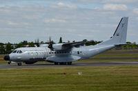16708 @ EGLF - Departing on a customer demo flight. - by kenvidkid