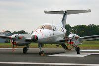 74 @ LFRN - Embraer EMB-121AN Xingu, Static display, Rennes-St Jacques airport (LFRN-RNS) Air show 2014 - by Yves-Q