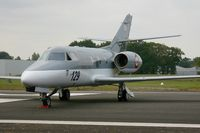 129 @ LFRN - Dassault Falcon 10 MER, Static display, Rennes-St Jacques airport (LFRN-RNS) Air show 2014 - by Yves-Q