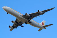 EC-GHX @ EGLL - Airbus A340-313 [134] (Iberia) Home~G 18/04/2013. On approach 27R.