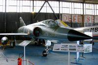 549 @ LFOC - Dassault Mirage IIIE, Canopée Museum Châteaudun Air Base (LFOC) - by Yves-Q