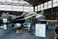 206 @ LFOC - Dassault Mirage III B, Canopée Museum Châteaudun Air Base 279 (LFOC) - by Yves-Q