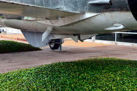 62-4346 @ KDAL - Looking at the tailhook, Frontiers of Flight Museum DAL - by Ronald Barker