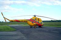 SP-WXM @ EPWR - Mil Mi-2+ Hoplite [513904015] (Lotnicze Pogotowie Ratunkowe-Polish Air Rescue) Wroclaw-Strachowice~SP 20/05/2004