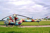 4514 @ EPKK - Mil Mi-2RL Hoplite [554514125] (Polish Air Force) Cracow-Balice (John Paul II International)~SP 19/05/2004