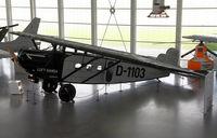 D-1103 @ EDNY - dornier museum - by olivier Cortot