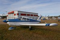 C-FEMV @ CYOP - It's been sitting for a while - by Guy Pambrun
