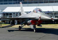 90-0829 @ EGLF - On static display at FIA 2014, the first time in many years there was not an F-16 in the flying display. - by kenvidkid
