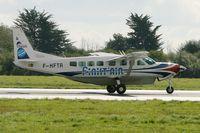 F-HFTR @ LFRB - Cessna 208B Grand Caravan, Take off rwy 25L, Brest-Bretagne Airport (LFRB-BES) - by Yves-Q