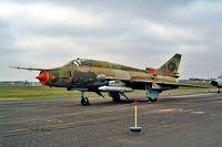 25 11 @ EDBG - Sukhoi Su-22M-4 [25018] (German Air Force) Berlin-Gatow~D 15/05/2004
