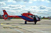 D-HUAE @ EDDB - Eurocopter EC.120B Colibri [1144] Berlin-Schonefeld~D 14/05/2004 - by Ray Barber