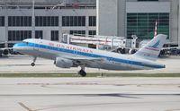 N744P @ MIA - USAirways Piedmont tribute