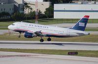 N758US @ FLL - US Airways