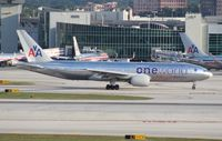 N791AN @ MIA - American One World