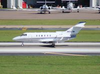 N833TM @ TPA - Hawker 800XP