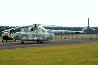 93 92 @ EDBG - Mil Mi-9 [340006] (German Air Force) Berlin-Gatow~D 15/05/2004