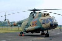 93 14 @ EDBG - Mil Mi-8T Hip [10543] German Air Force) Berlin-Gatow~D 15/05/2004