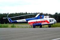 D-HOXQ @ EDAZ - Mil Mi-8T Hip [105103] (Berliner Spezial Flug Hubschrauber) Schonhagen~D 14/05/2004 - by Ray Barber