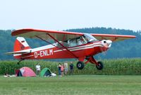 D-ENLM @ EDMT - Piper L-18C-95 Super Cub [18-1592] Tannheim~D 24/08/2013 - by Ray Barber