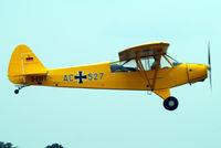 D-EDFT @ EDMT - Piper L-18C-95 Super Cub [18-3452] Tannheim~D 24/08/2013 - by Ray Barber
