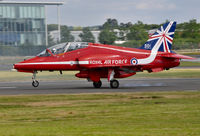 XX322 @ EGLF - Arriving at Farnborough from Fairford. - by kenvidkid