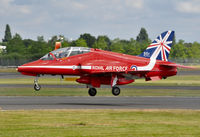 XX323 @ EGLF - Arriving at Farnborough from Fairford. - by kenvidkid
