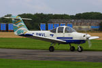 G-BMVL @ EGBR - at Breighton's Heli Fly-in, 2014 - by Chris Hall