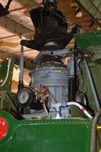 157838 @ KDAL - Frontiers of Flight Museum DAL, rotor transmission - by Ronald Barker