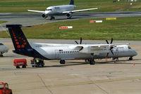 G-ECOH @ EDDH - De Havilland Canada DHC-8Q-402 Dash 8 [4221] (Brussels Airlines) Hamburg-Fuhlsbuettel~D 16/08/2013