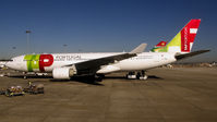 CS-TOK @ LPPT - Previously, from Austrian Airlines. 