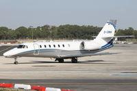 D-CWIN @ LMML - Cessna680 D-CWIN - by Raymond Zammit