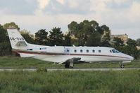 CS-DXD @ LMML - Cessna 560 CS-DXD NetsJets - by Raymond Zammit