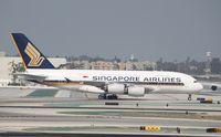 9V-SKL @ KLAX - Airbus A380-800 - by Mark Pasqualino