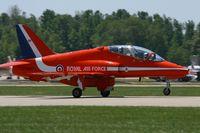 XX263 @ LFMY - Royal Air Force Hawker Siddeley Hawk T.1, Take-off Rwy 34, Salon de Provence Air Base 701 (LFMY) Open day 2013 - by Yves-Q