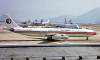 B-2381 @ VHHX - Airbus A340-313X [131] (China Eastern Airlines) Hong Kong Kai-Tak~B 31/10/1997 - by Ray Barber