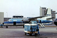 PH-KFH @ EHAM - Fokker F.27-200 Friendship [10256] (N.L.M.) Amsterdam-Schiphol~PH 12/08/1976. From a slide.