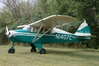 N1407C @ WS69 - At Log Cabin fly-in - by alanh