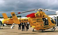 G-LNAA @ EGSU - McDonnell-Douglas MD-902 Explorer [900-00074] (Linc & Notts Air Ambulance) Duxford~G 27/09/2001