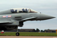 ZK380 @ EGXC - Close up nose detail of ZK380 coded 'BG' with the resident 29 R Sqn at RAF Coningsby - by Clive Pattle