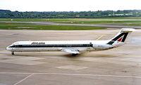I-DAWB @ EDDL - McDonnell Douglas DC-9-82 [49197] (Alitalia) Dusseldorf~D 23/05/1998