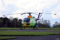 G-CDBS @ EGPT - The Scottish Air Ambulance parked up at its base at Perth EGPT, awaiting its next call to duty - by Clive Pattle