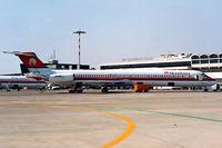 EI-CRH @ LIRP - McDonnell Douglas DC-9-83 [49935] (Meridiana) Pisa~I 13/09/1999