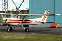 G-BNJH @ EGPT - Parked up at Perth EGPT - by Clive Pattle