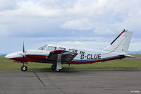 G-CLUE @ EGPT - Parked up at Perth EGPT - by Clive Pattle