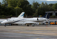 M-MHFZ @ LSGG - Parked at the General Aviation area... - by Shunn311